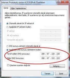 DNS Ayarları Değiştirme Nasıl Yapılır?